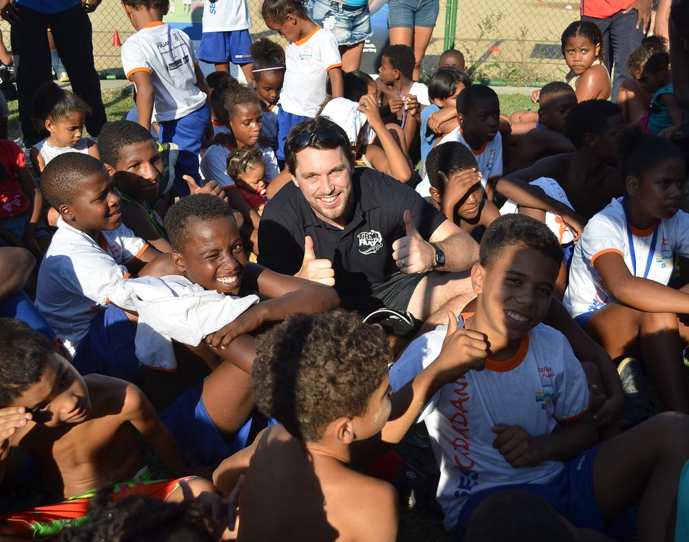 Dom Caton was part of a cohort of rugby coaches who arrived in Brazil in 2012 as part of the Try Rugby initiative