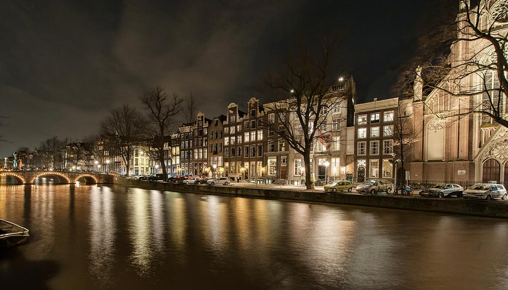 An exterior view of the Pulitzer Amsterdam. The iconic Dutch hotel has recently been renovated