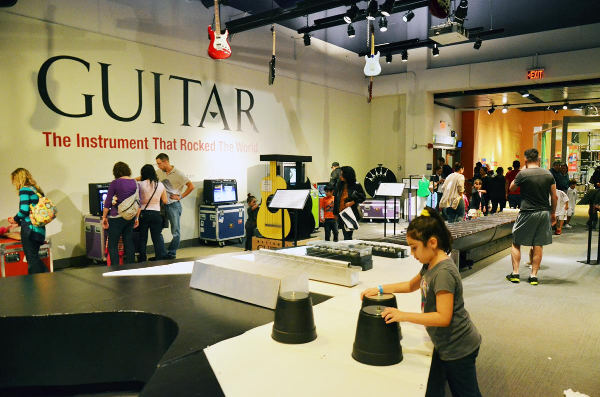 Travelling Guitar Exhibition Strikes Chord In New Jersey Science