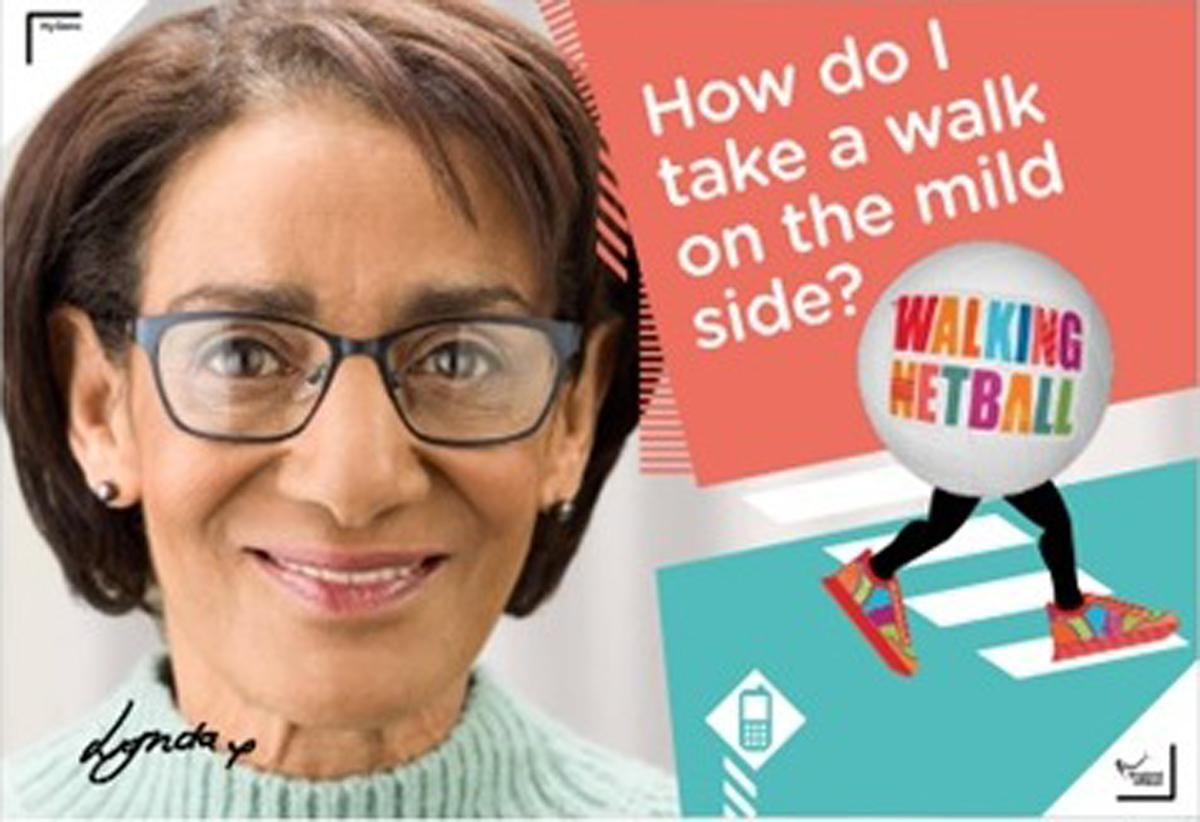 Walking netball will be rolled out in September following trials starting in April / England Netball