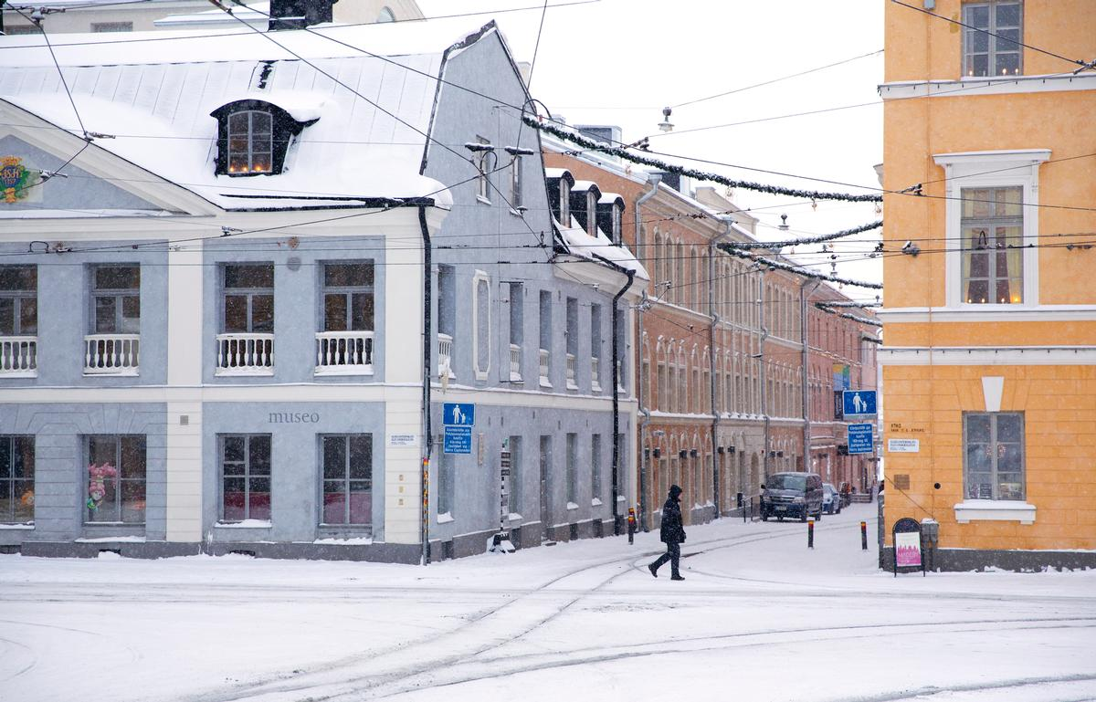 The museum site within five buildings on Helsinki's historic Senate Square / Helsinki City Museum