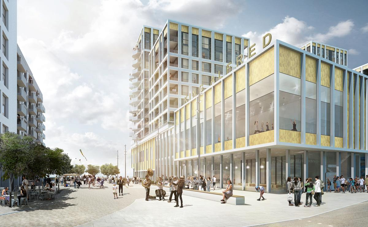 Haworth Tompkins take over from Gehry for Brighton \u0026 Hove leisure ...