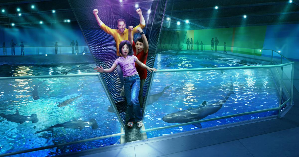 The Aquarium Will Be The First In North America To Build A