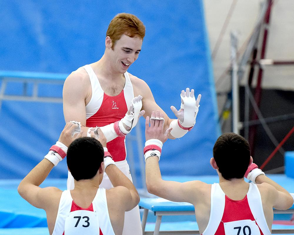 Disability ambassador Alex Buesnel is part of British Gymnastics' disability programme, which is supported by Sport England funding