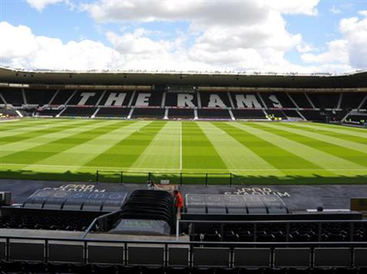 The iPro Stadium, formerly known as Pride Park, opened in 1997 / Derby County FC