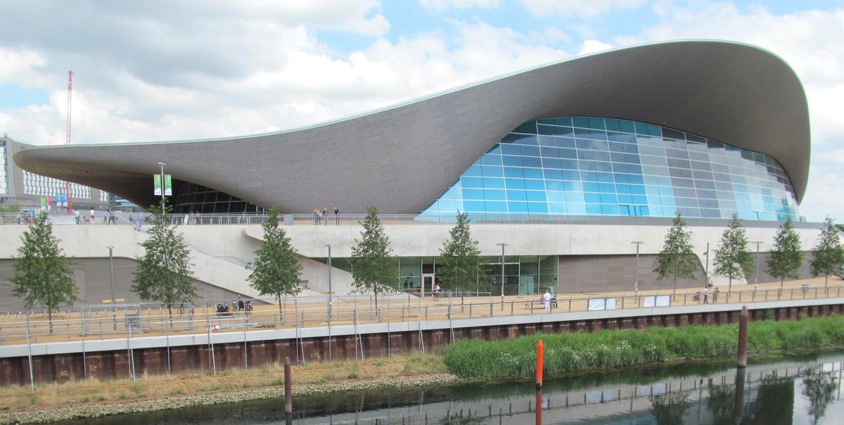 Zaha Hadid Architects' London Aquatics Centre / Shutterstock