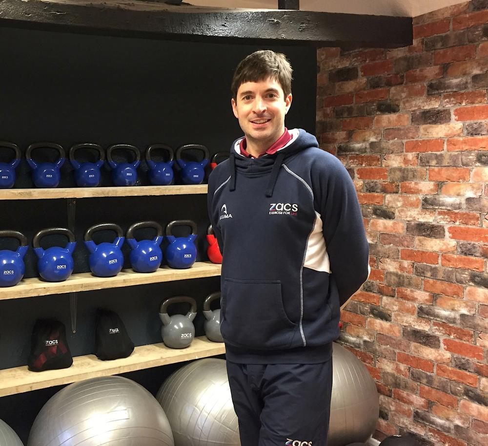 Purchase has a personal passion for functional fitness