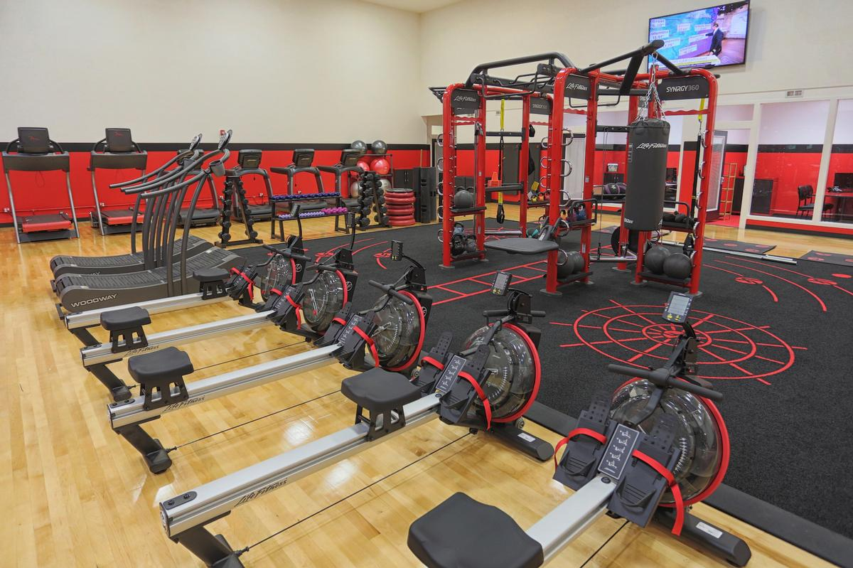 The Premier Zone covers all areas of fitness