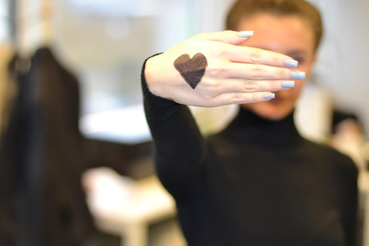 The campaign encourages people to share a selfie of the part of their body they love the most with a heart drawn on it
