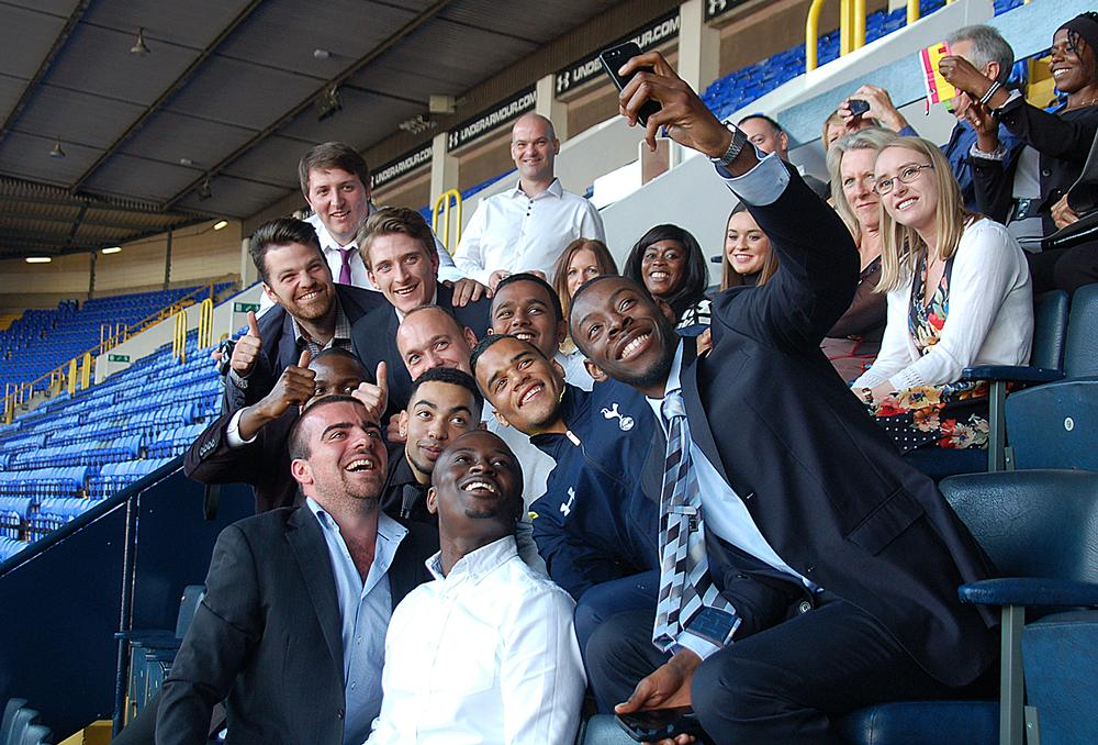 Spurs' White Hart Lane ground is 'open 365 days a year' to members of the community