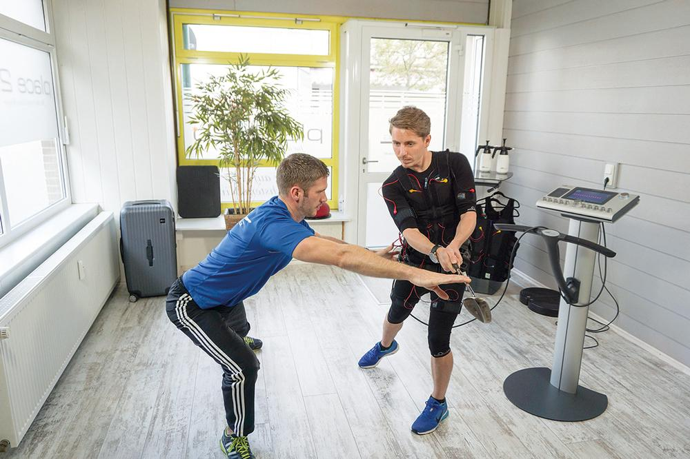 The explosive power of hard-to-train core muscles – key for many athletes – increased by up to 74 per cent