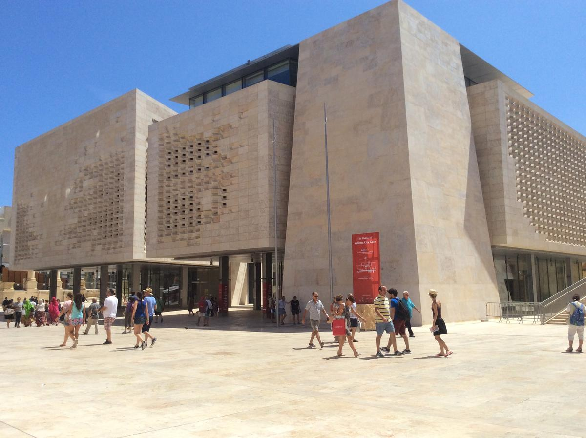 Valletta's €90m (US$101.7m, £70.5m) Parliament House opened last year / Continental Europe