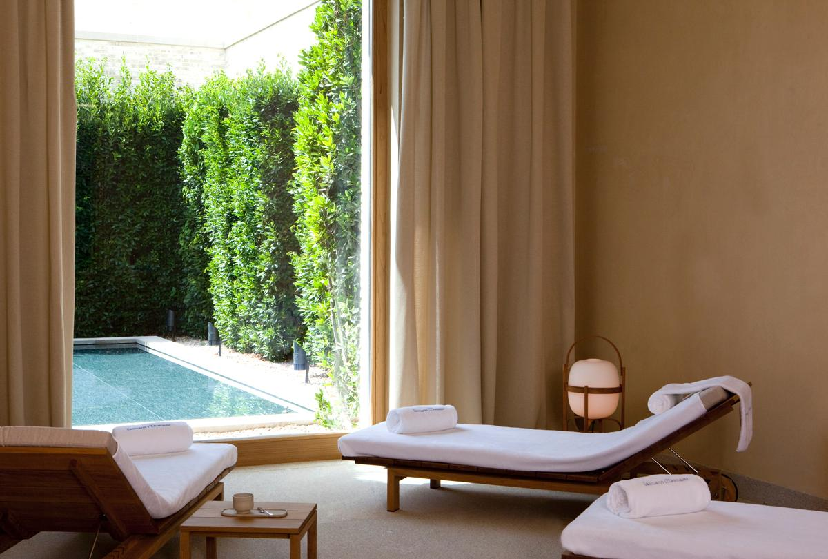 The spa is set in an exclusive abbey hotel and winery dating from 1146 / Abadía Retuerta LeDomaine