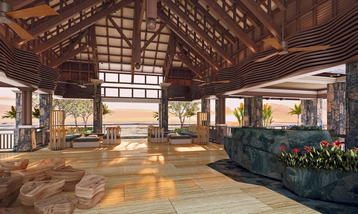 Westin turtle bay resort spa launches in mauritius for Interior decoration mauritius