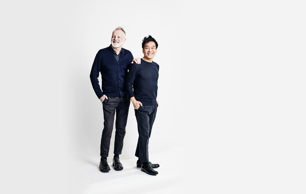 George Yabu & Glenn Pushelberg / Photo: Shayan Asgharnia