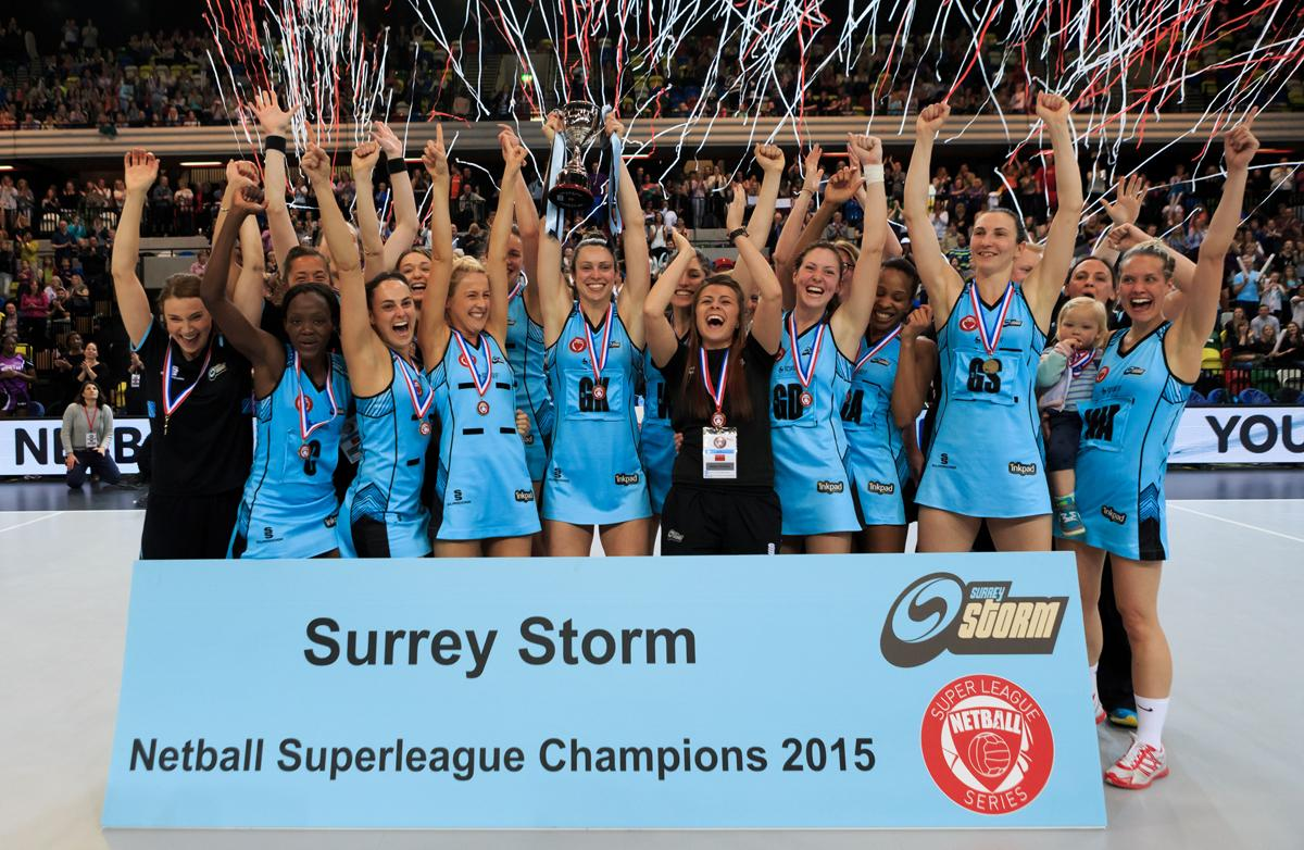 Surrey Storm won the Superleague in 2015