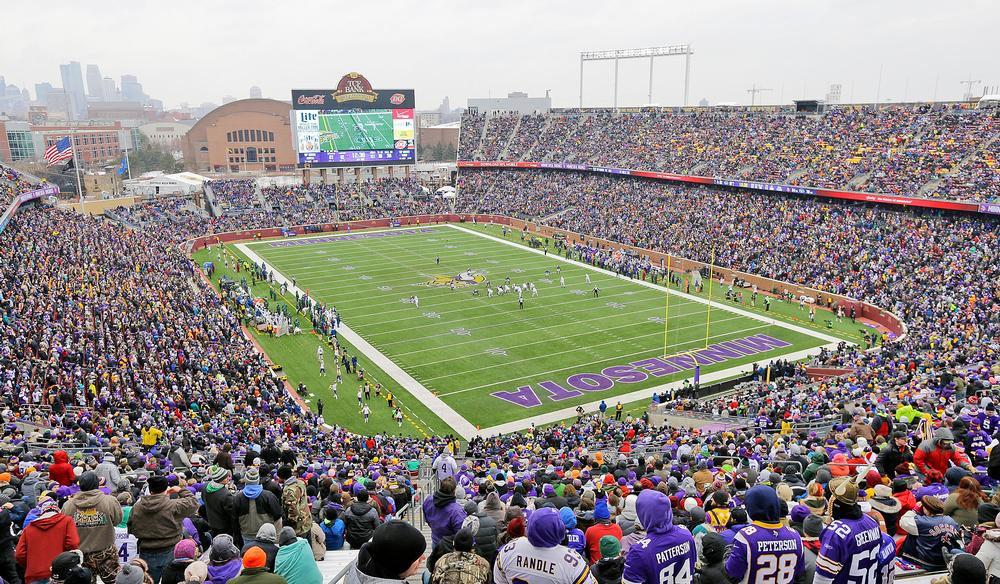 TCF Bank Stadium, Minneapolis, Minnesota: Almost all of the construction waste  was recycled from this LEED Silver certified University stadium