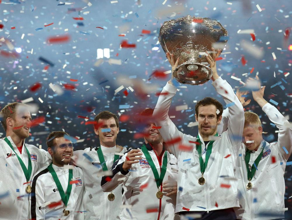 The Davis Cup win, led by Andy Murray, has had a positive effect on tennis participation / Press Association