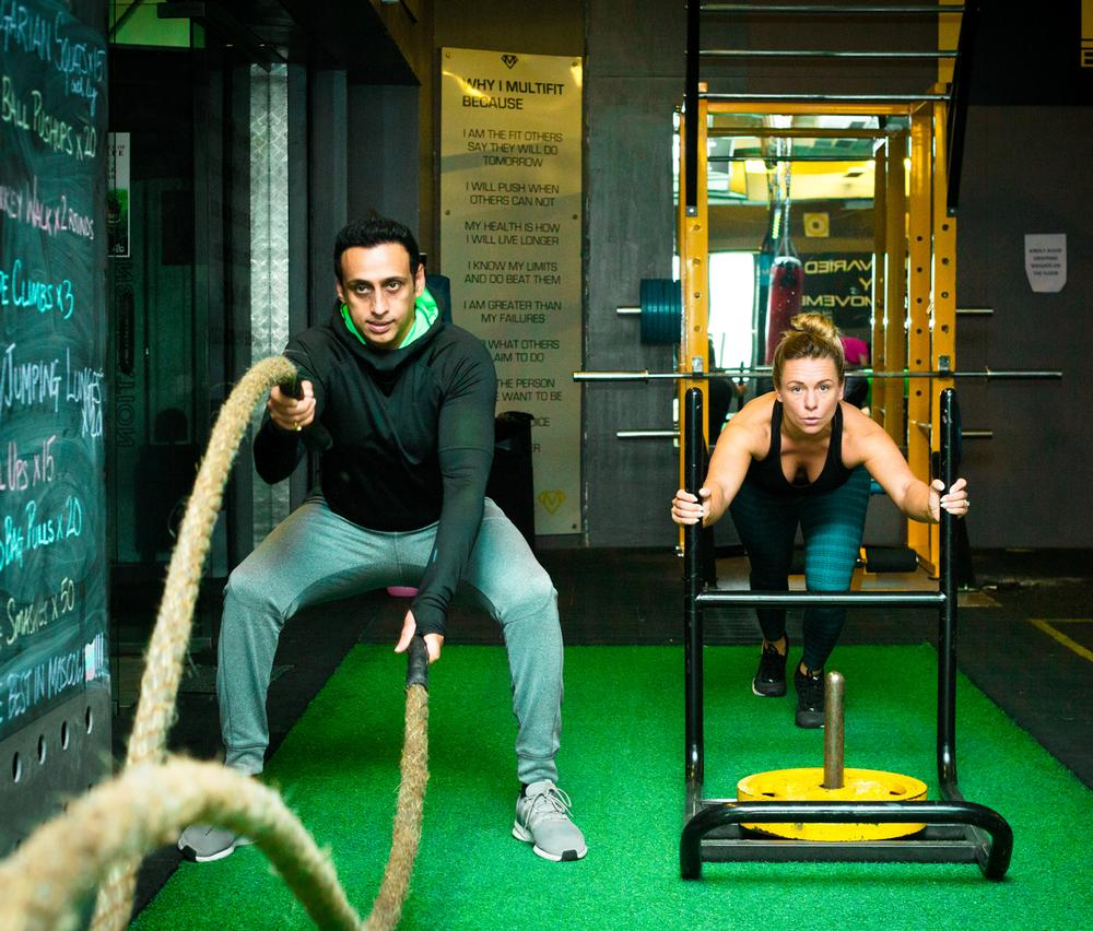 In two years, the couple have established 15 fitness studios in India