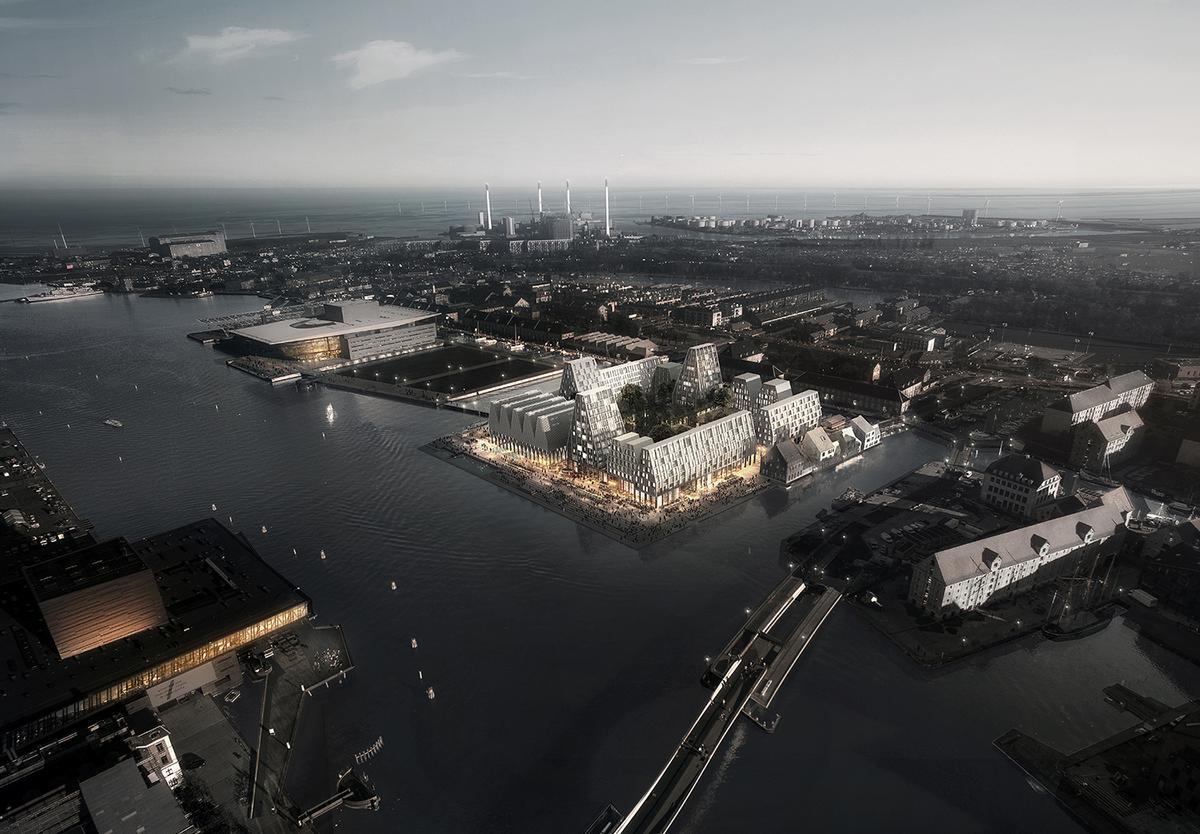 The quay stands in Copenhagen's inner harbour / COBE/Luxigon