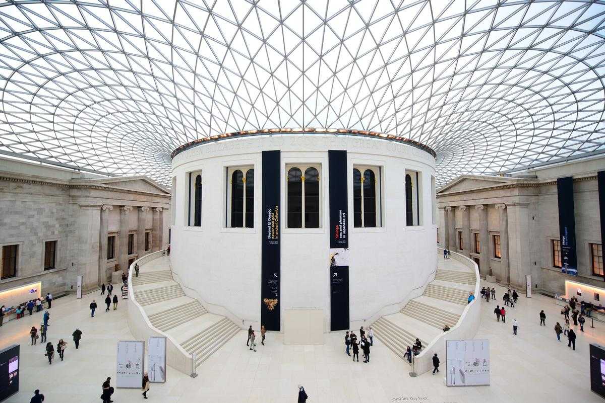 The British Museum was once again the most visited attraction in the UK for the eighth consecutive year / Shutterstock.com