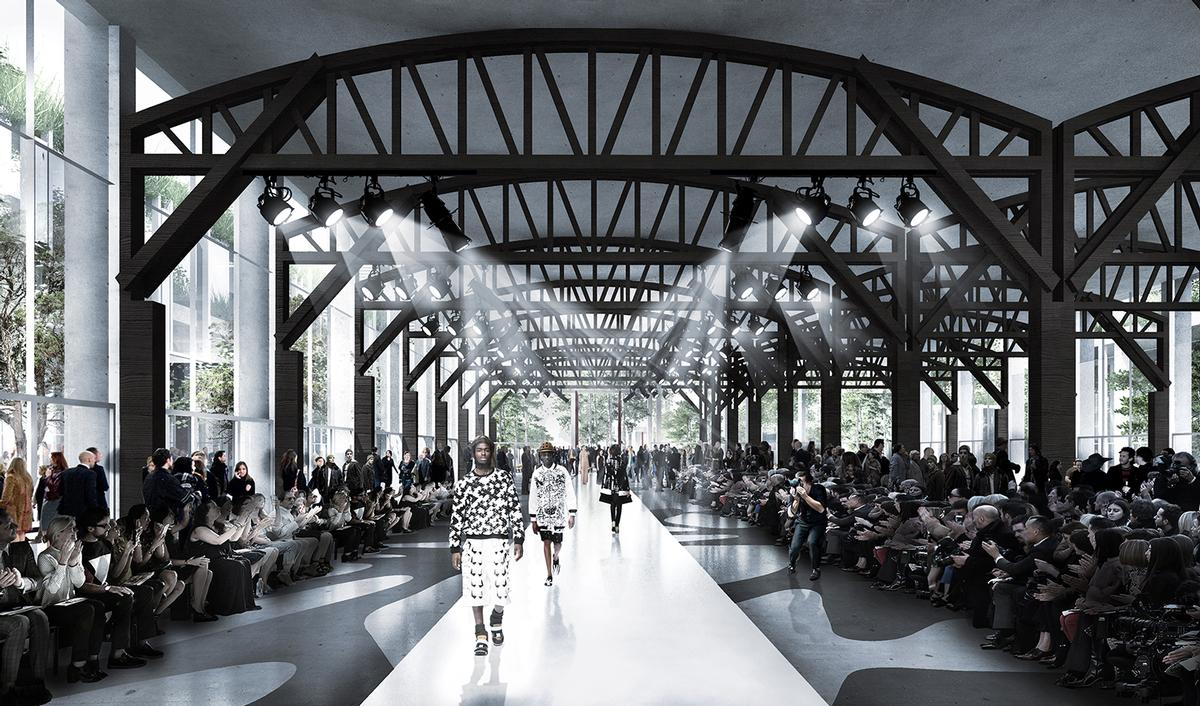 An event hall for cultural programmes is incorporated in the masterplan / COBE/Luxigon