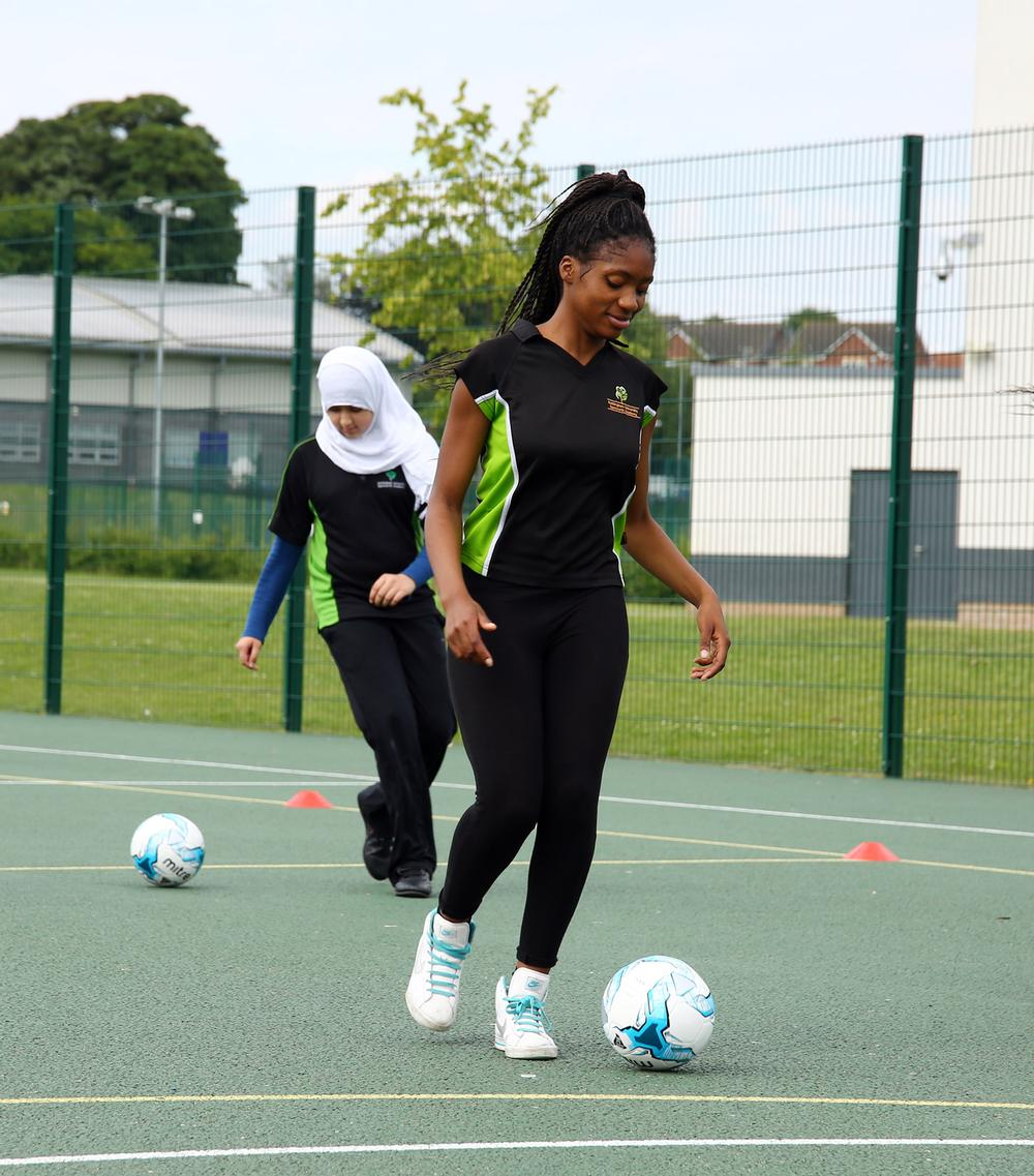 The programme looks to attract more BME people to play football