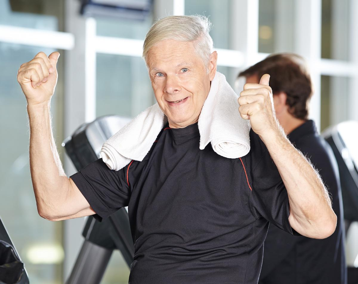 The fact older people are living for much longer offers a multitude of opportunities for physical activity providers to help maintain health and mobility / Shutterstock.com