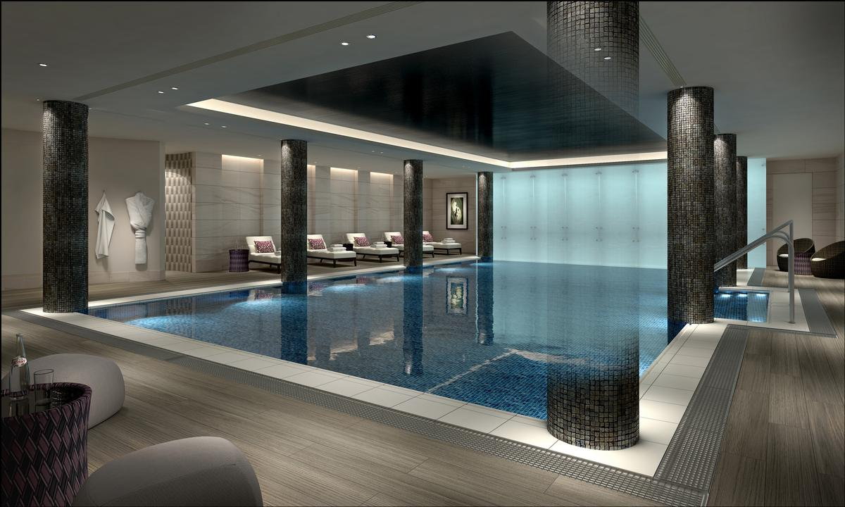 Pleasing Rpw Design Create New Look For Marriott London Hotels And Health Largest Home Design Picture Inspirations Pitcheantrous