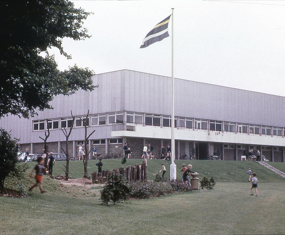 Harlow Leisure Centre –the UK's first public leisure facility