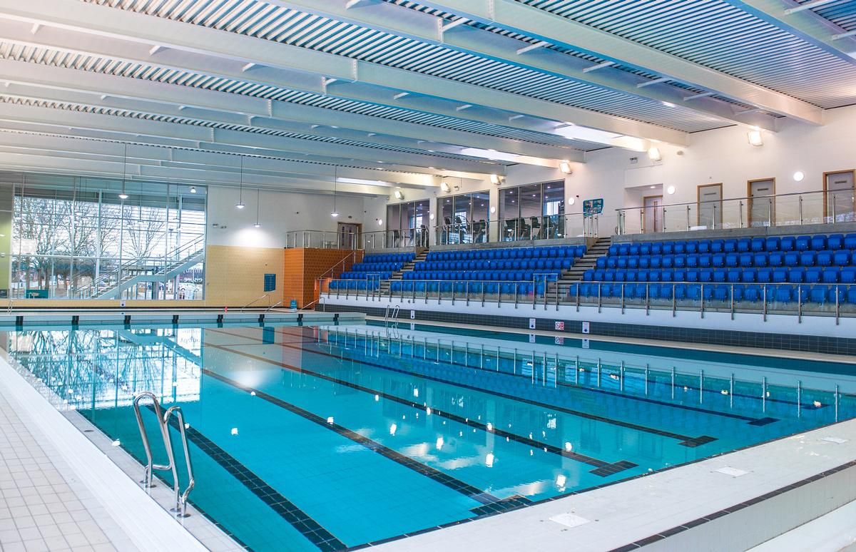 Standout features of the new facility include a 25m (82ft), eight-lane swimming pool and a specialist learner pool