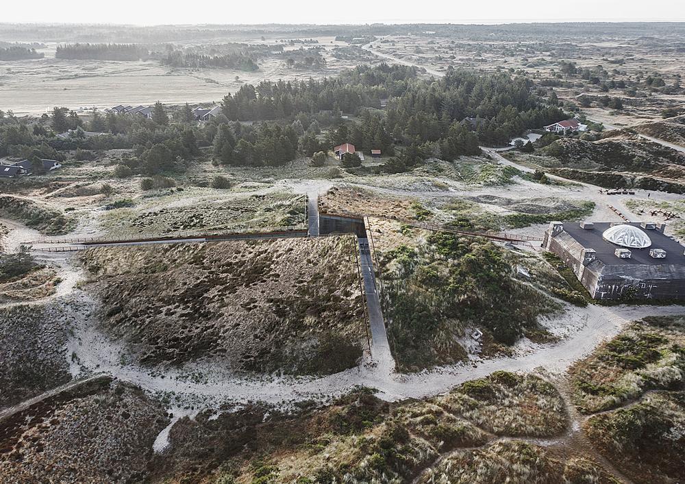Tirpitz Museum opened in June on Denmark's west coast. It is connected to a WWII bunker / Photo: Rasmus Hjortshoj