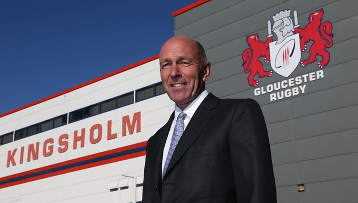 St Quinton took his original 25 per cent stake in the club in October 2008 / Martin Bennett/ Gloucester Rugby