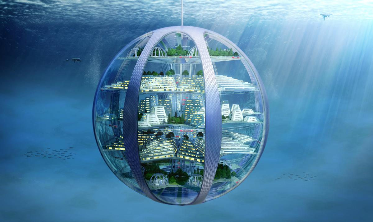 Underwater cities 'are likely to become a reality' – using the water itself to create breathable atmospheres and generating hydrogen fuel through the process / SmartThings