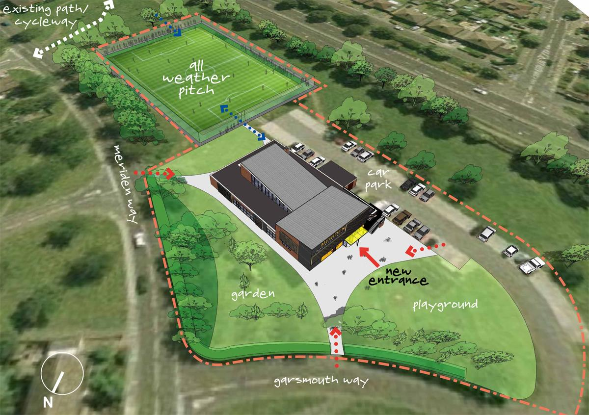 Watford fc to build 250k pitch for local community centre for Building a house for 250k