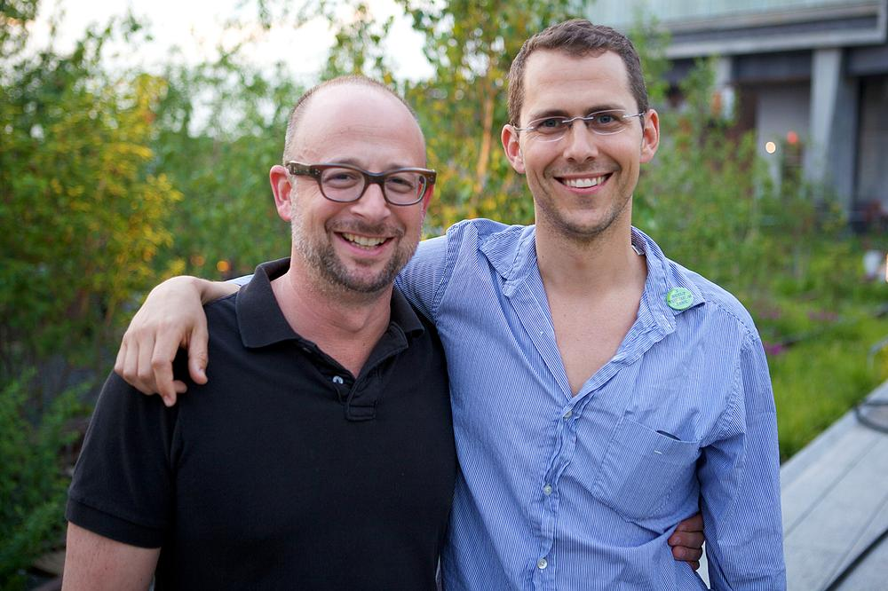 A long High Line journey: Founders Joshua David (left) and Robert Hammond have worked tirelessly on the project / Photo: © JEFFREY DONENFELD