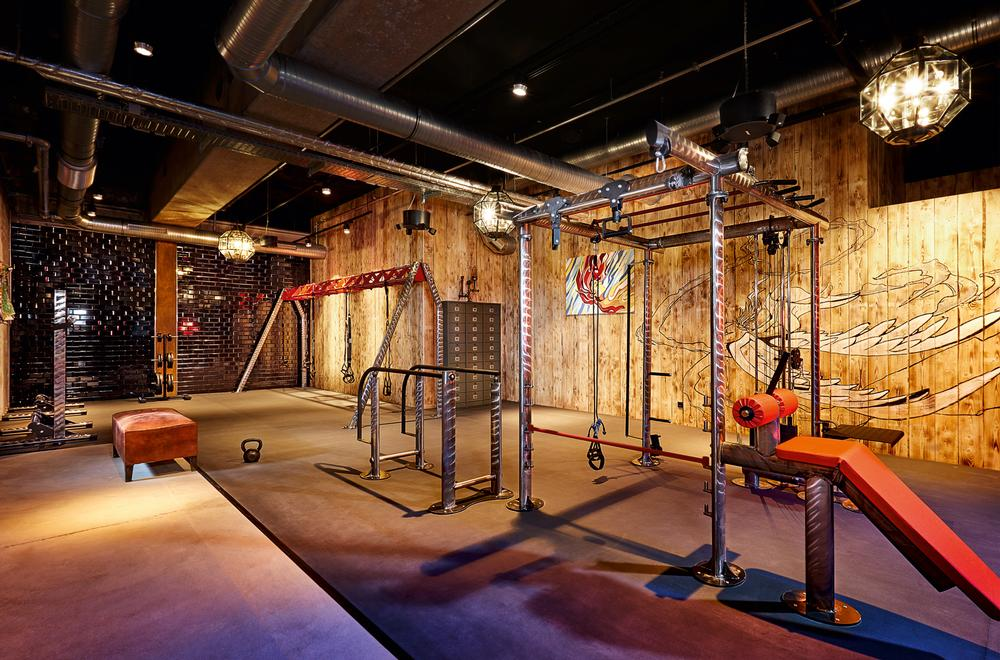 John Reed allows you to train hard, but in a visually striking environment