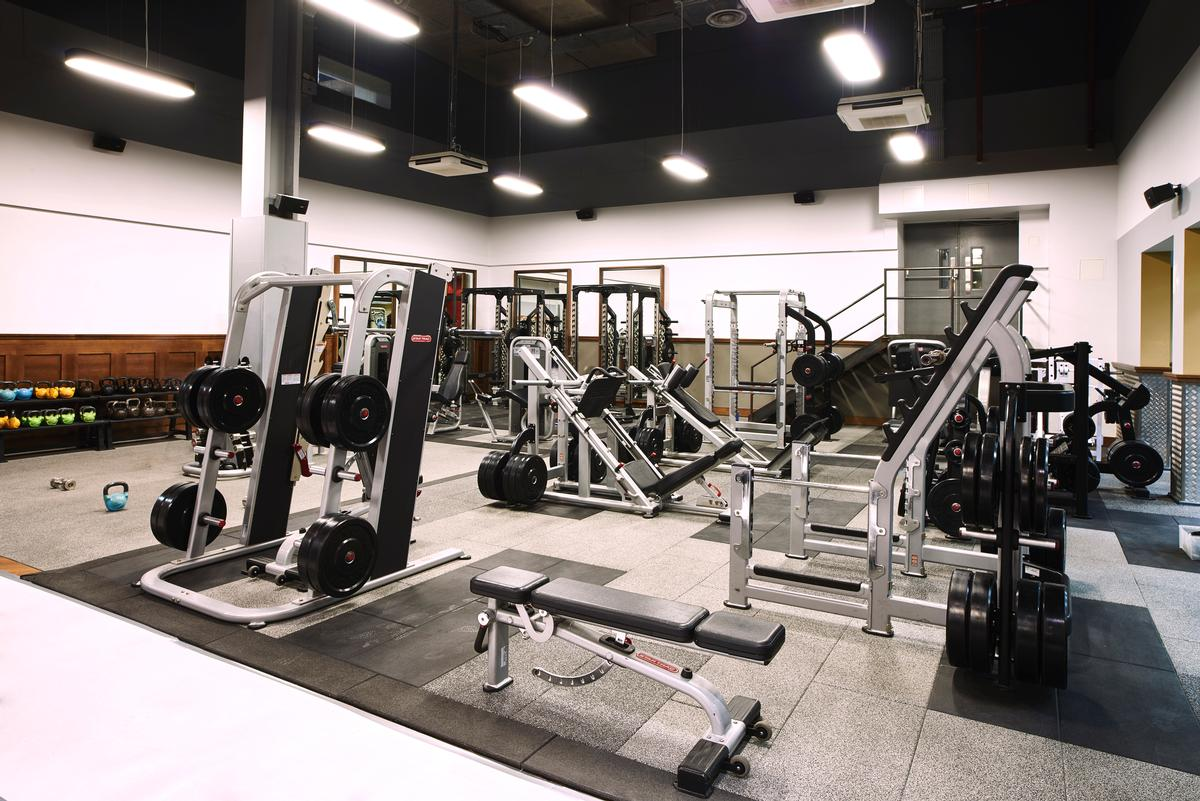 86e8c1f08f9 The gym floor features a selection of  best-in-class  equipment