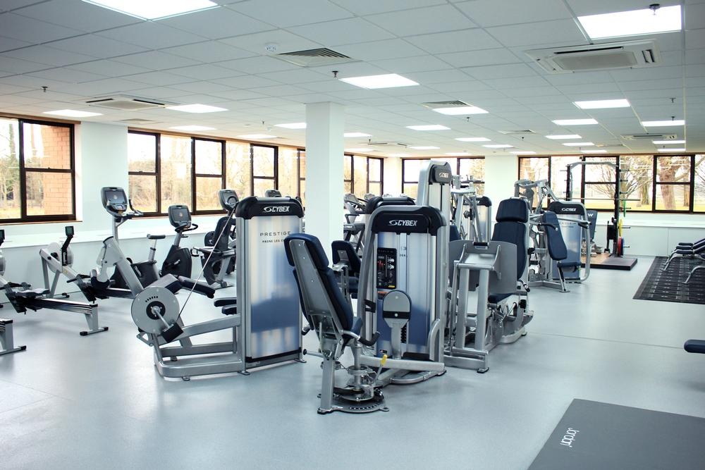 The studio features the new SPARC – Cybex's self-powered resisted cardio machine designed for HIIT and circuit training