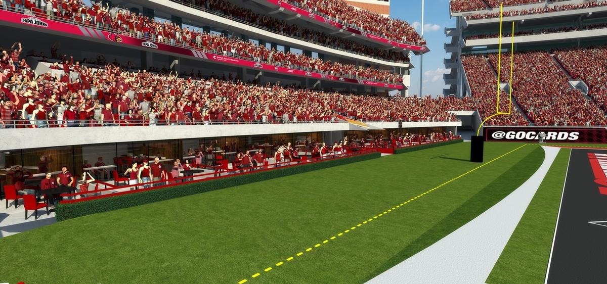 Louisville Cardinals Reveal Plans For Us55m Football