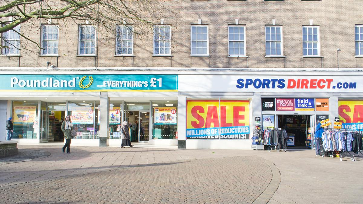 High street heavyweights like Poundland and Sports Direct are shaking up the budget fitness sector / Tom Gowanlock / Shutterstock.com