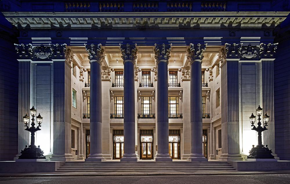 Ten Trinity Square is the former headquarters of the Port of London Authority