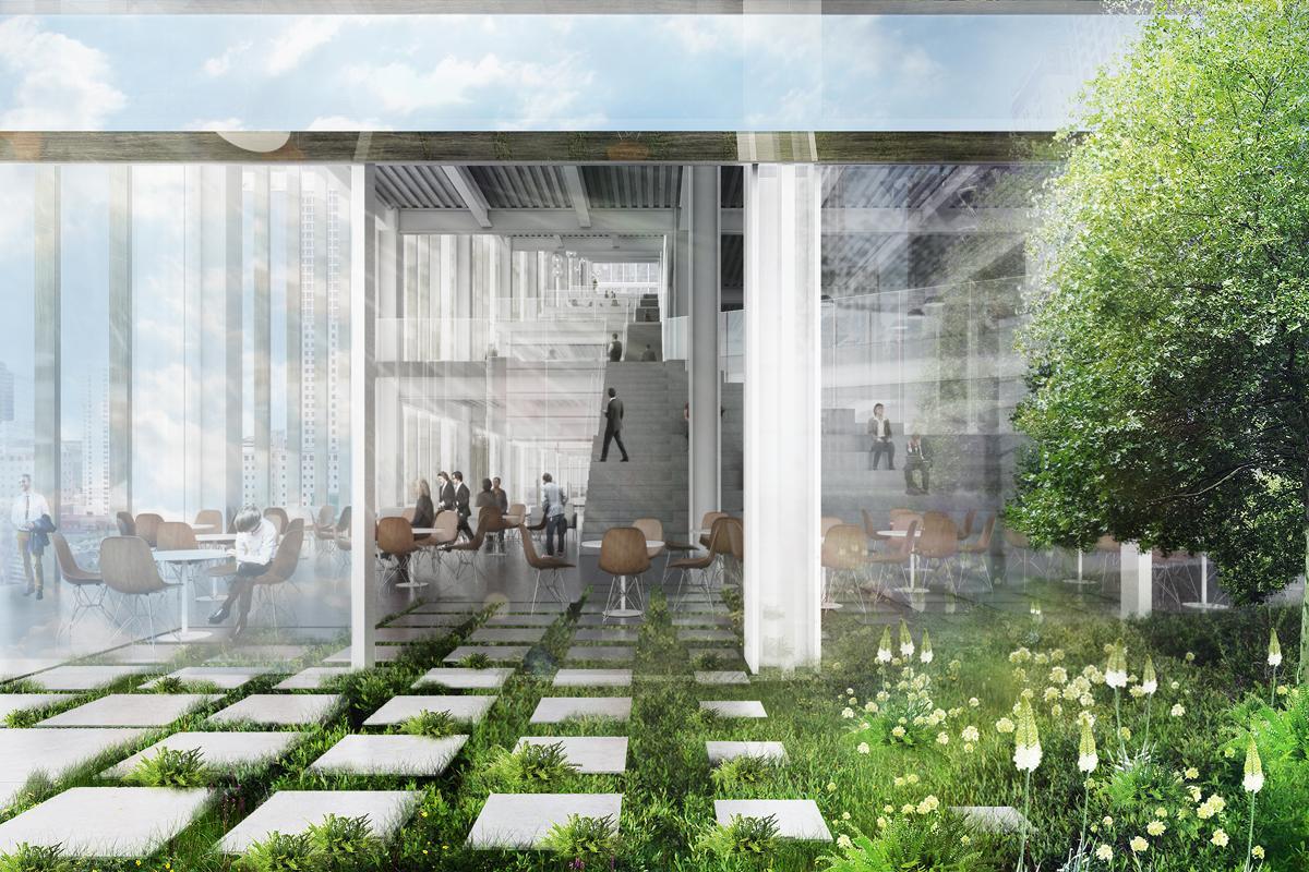 BIG's designs allow for plenty of open spaces / DBOX/BIG