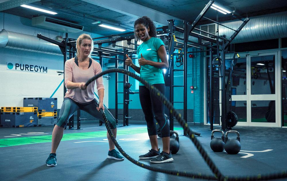 PureGym is introducing functional training areas and classes that are proving popular