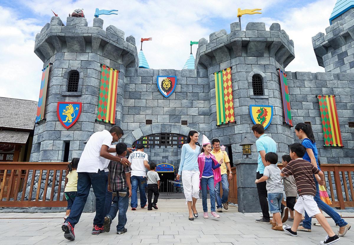 The resort's most recognisable theme park IP will be Legoland Dubai / Dubai Parks & Resorts