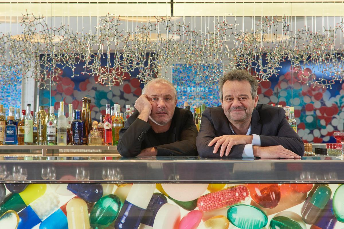 Hirst Is Launching The Restaurant In Collaboration With Chef Mark Hix Prudence Cuming Associates Courtesy Of 2H Ltd