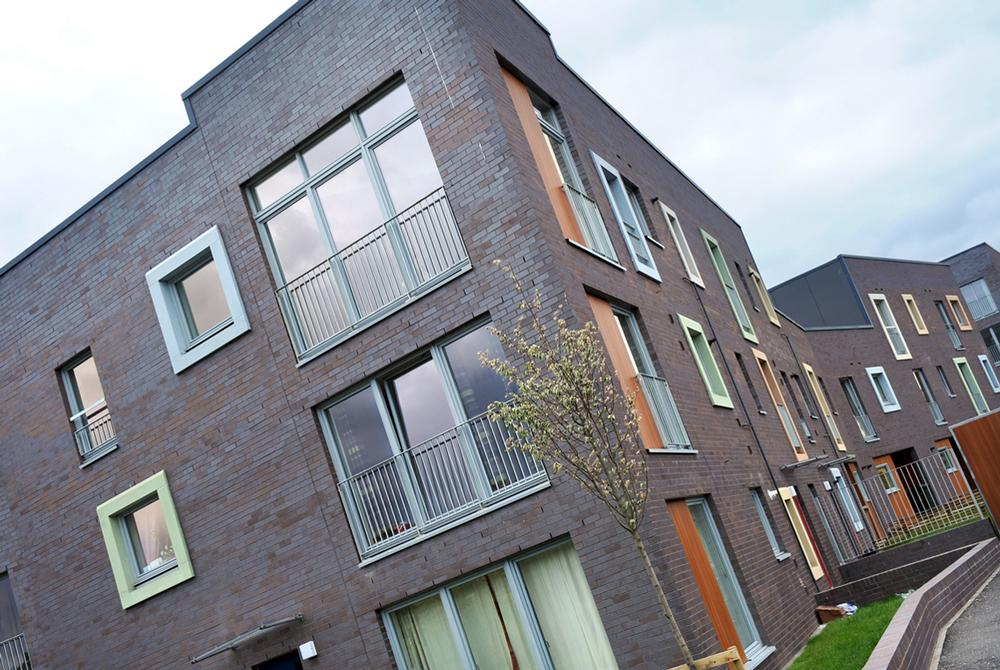 PfP recently completed an 84 home development in Craigmillar, Scotland, part of a regeneration of the area