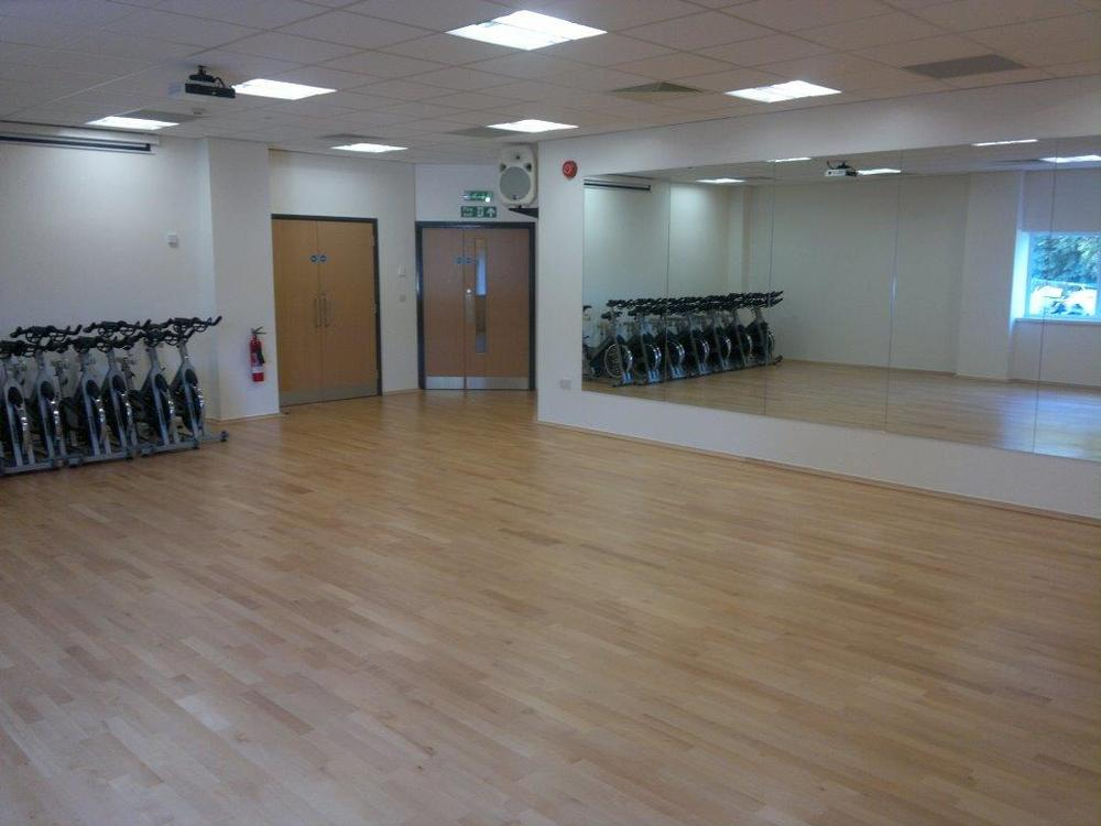 A new fitness suite and dance hall for use by pupils and the public