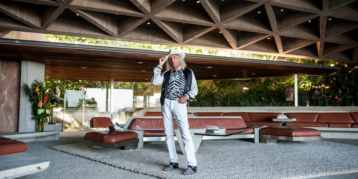 James Goldstein, who owns the Sheats Goldstein residence in the Hollywood hills, has pledged the building to LACMA