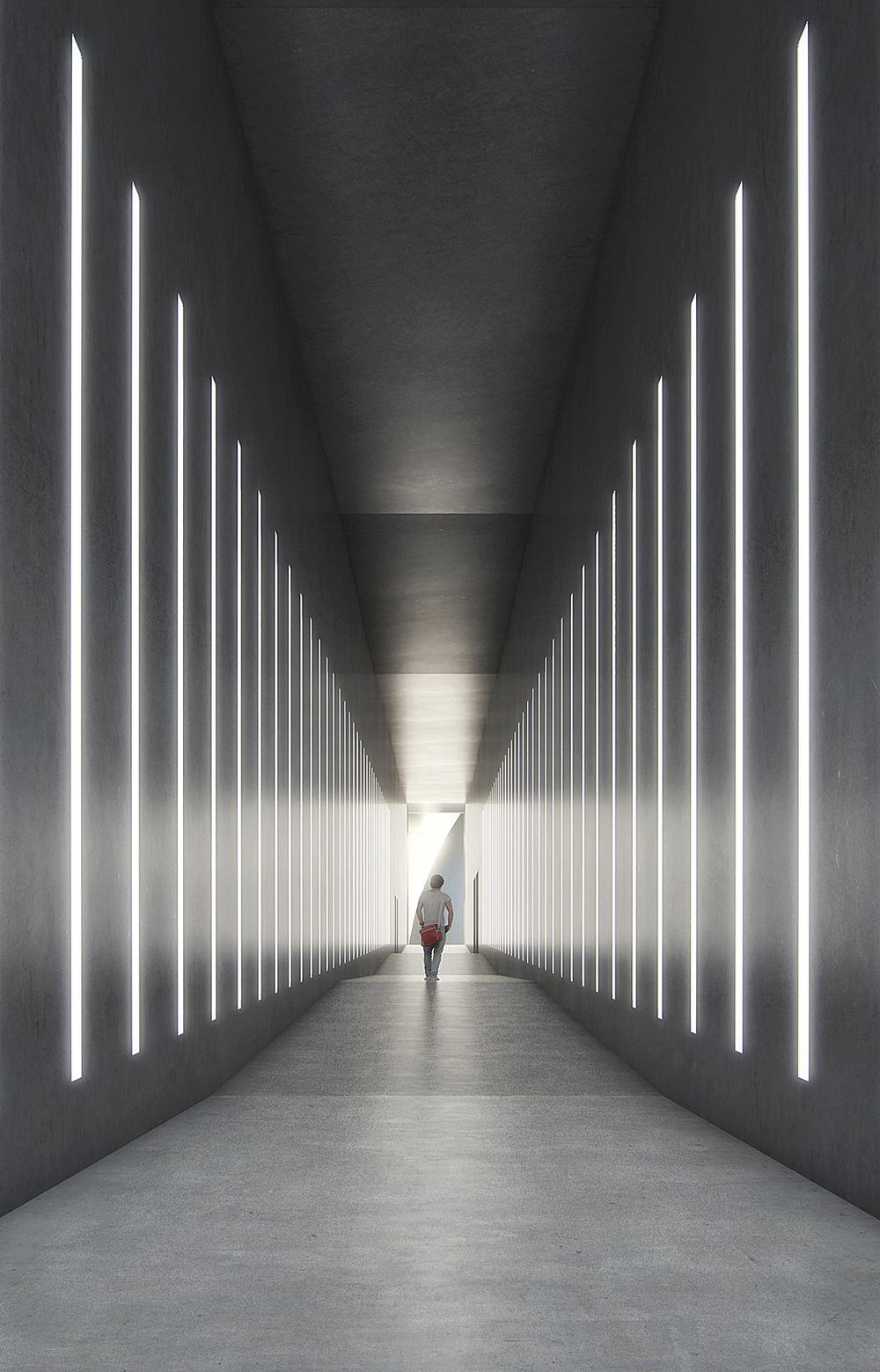 Turrell's typical focus on light and space is central to the expansion designs / Image: Beauty and the Bit